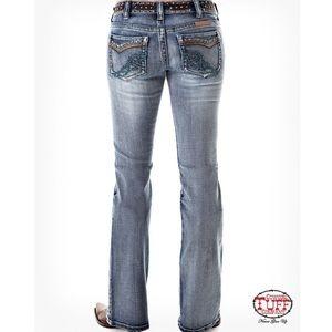 Tuff Embellished Vintage Jeans